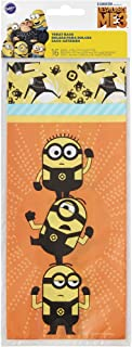 Wilton 1912-7114 16 Count Despicable Me 3 Minions Treat Bags, Assorted