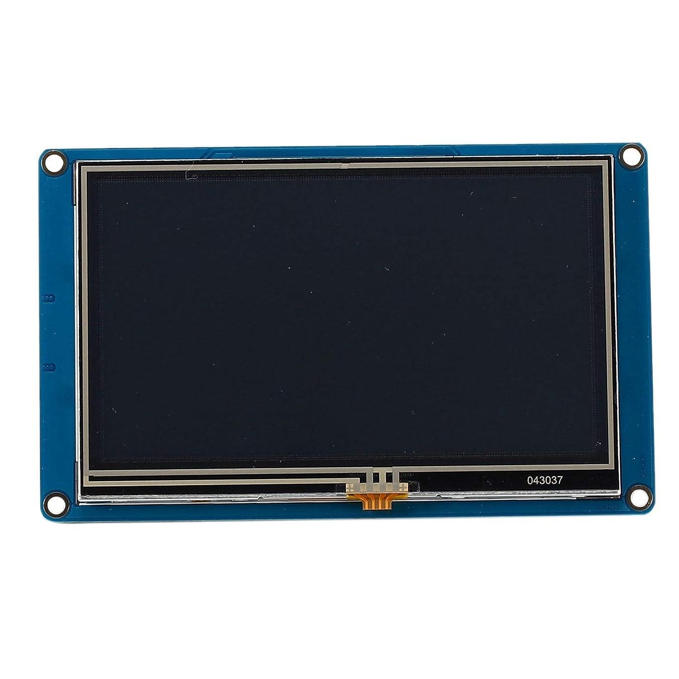 シールド一時停止化粧Luntus 4.3インチ Nextion H用 インテリジェントスマートUSART UARTシリアルプレス TFT LCDモジュールのディスプレイパネル Raspberry Pi 2 A + B + R3 Mega2560用