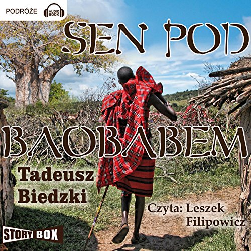 Sen pod baobabem audiobook cover art
