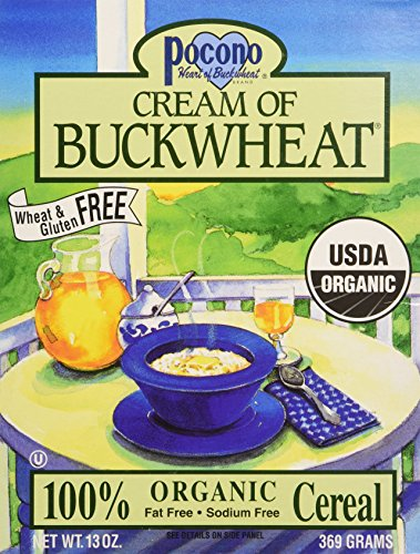 Pocono Organic Cream of Buckwheat Cereal (3x13 oz.)