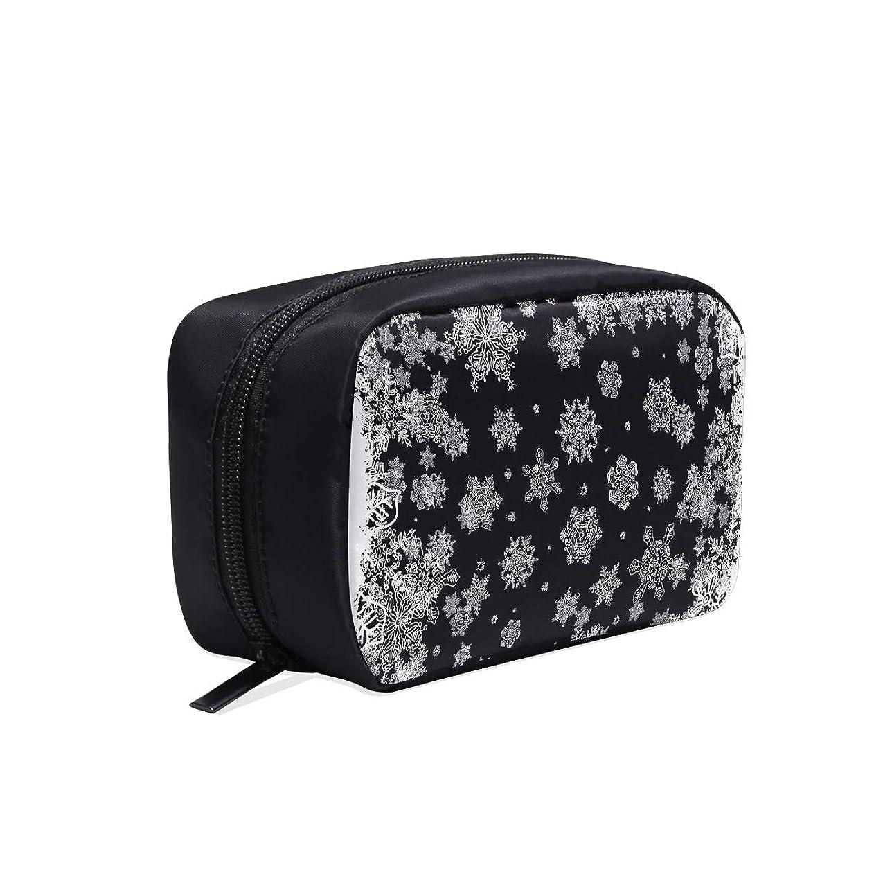 破壊的カウントアップサイトGGSXD メイクポーチ 雪の花 ボックス コスメ収納 化粧品収納ケース 大容量 収納 化粧品入れ 化粧バッグ 旅行用 メイクブラシバッグ 化粧箱 持ち運び便利 プロ用