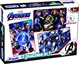 Frank Marvel Avengers - Endgame 3 Puzzles in 1 - A Set of 3 48 Pc Jigsaw Puzzles for 5 Year Old Kids and Above