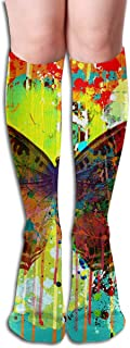 iuitt7rtree Calcetines Two Love Heart Coffee Hot Womens Stocking Decor Calcetín para niñas calcetines7754
