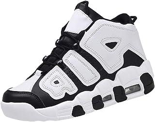 Chaussures Haute De Basket-Ball Homme Pas Cher Tendance Respirant Running Mode Casual Baskets Ete Legere AntidéRapant RéSi...