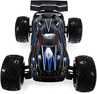 JLB Racing Cheetah 21101 1/10 4WD RC Brushless Off-Road Truck RTR 80-100km/h with 120A ESC 3670 2500KV Brushless Motor Wheelie Function
