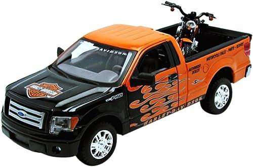Ford F-150 STX Weißh Harley-Davidson scale 1 24 (Orange schwarz)