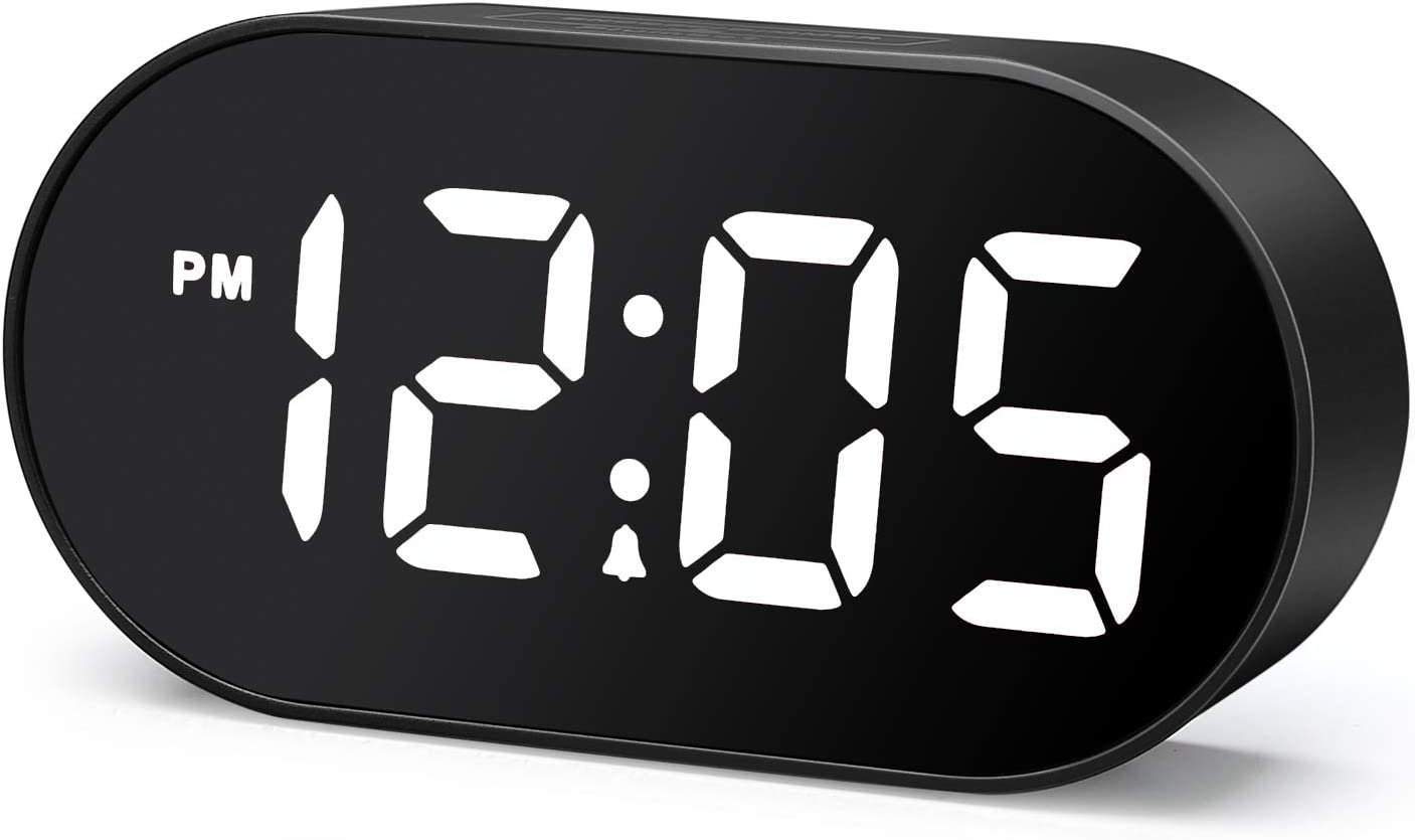Plumeet LED Alarm At Over item handling the price Clocks Digital Clock and - with Dimmer Snooze