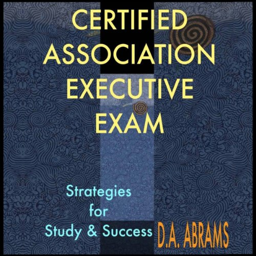 Certified Association Executive Exam audiobook cover art