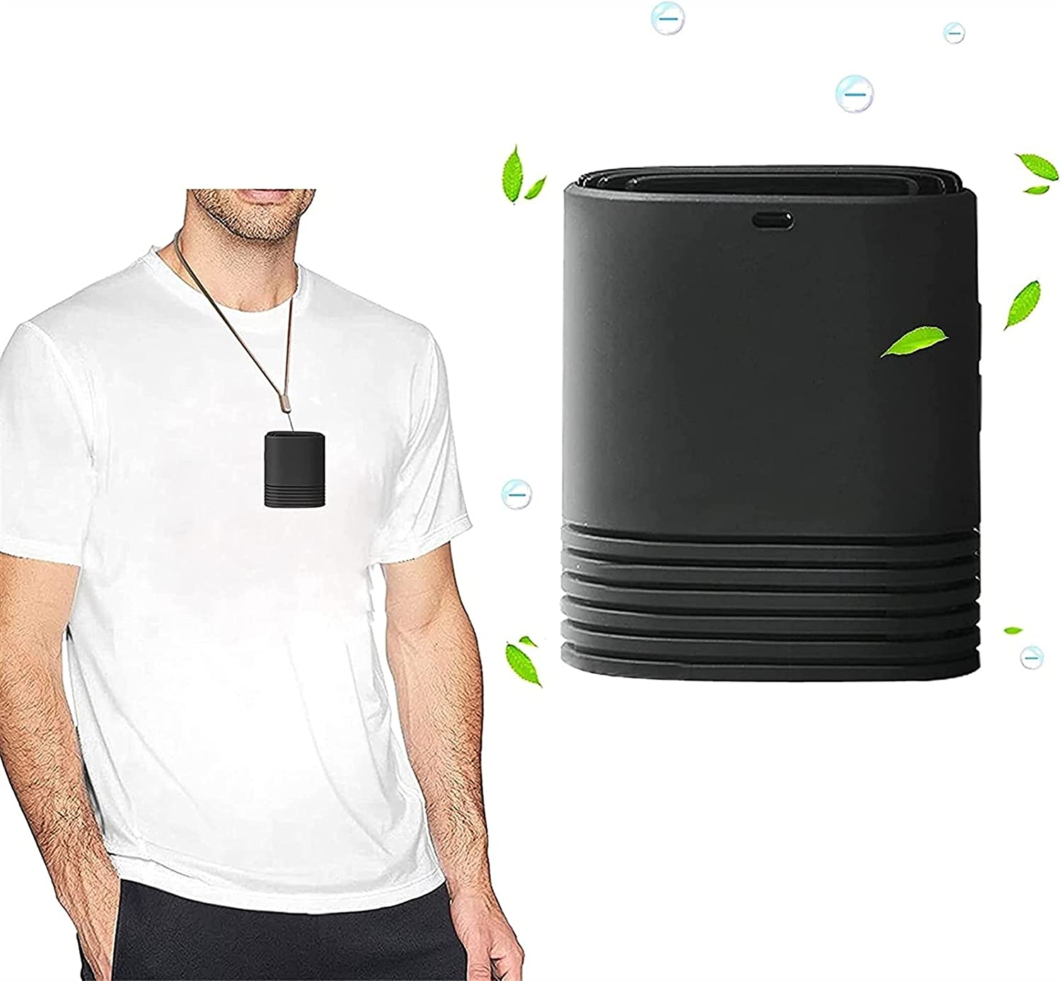 Personal Year-end gift Air Purifier Negative Generator Around C The Neck Max 70% OFF USB
