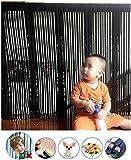 Robuste Net Banister Garde de sécurité for bébé Escaliers Rail Net Snuggle Escalier Balcon Banister Garde d'enfants Garde-Corps Garde d'escalier La Preuve Mesh Kid Safe Rail 300 L x 80 cm H,