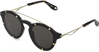 نظارات شمسية من جيفنشي للنساء - عدسات رمادية (شارك جي في 7088/اس ذهبي)