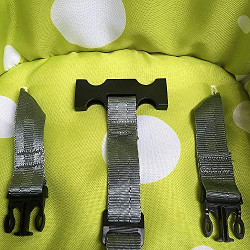 Zama Cintura di sicurezza per neonati, a 3 punti, ideale per il seggiolone