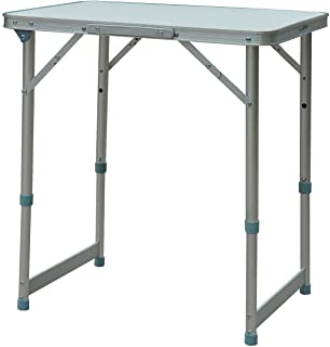 comprar comparacion Outsunny Mesa Plegable de Picnic como una Maleta para Playa Camping 60x45x65cm Aluminio Altura Ajustable