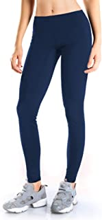 Yogipace Petite/Regular/Tall,Women's Water Resistant Fleece Lined Thermal Tights Winter Running Cycling Skiing Leggings with Zippered Pocket