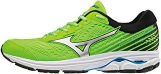 Mizuno Australia Men's Wave Rider 22 Running Shoes, Green Gecko/Silver/Brilliant Blue, 10.5 US