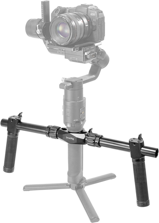 SMALLRIG Doble Manija Compatible con dji Ronin S / Ronin-SC, Manillar 470mm con Dos Empuñaduras - 2250
