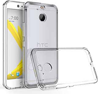 Tektide Case for HTC Bolt, [Invisible Armor] Ultra Low-Profile, Razor-Thin, Resilient, Featherlight Clear TPU Rubber Soft ...