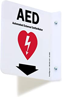 "SmartSign ""AED"" Projecting Sign 