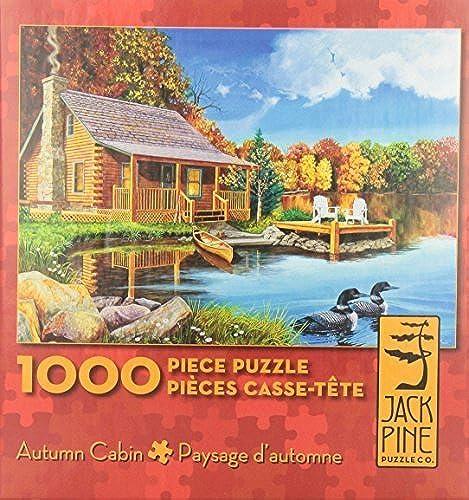 venta Autumn Cabin - 1000 piece puzzle by Jack Pine Pine Pine Puzzle Company  últimos estilos