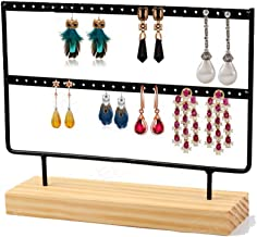 BESTOYARD Pr/ésentoir de bijoux Collier Stand Velours noir planant T-Bar Stands de bijoux Stands