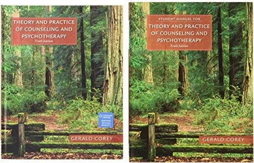 Bundle Theory And Practice Of Counseling And Psychotherapy 10th Student Manual
