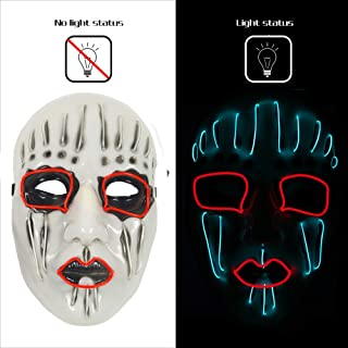 AnseeDirect Mascaras Carnaval Slipknot Mascara Clown Mask
