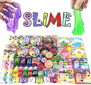 Assorted 5pcs Jelly Pudding Monster Soft Squeeze Squishy Slime Toys (Random)