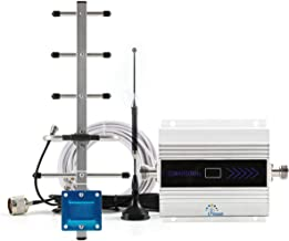 CIBoost Cell Phone Signal Booster for Home Verizon ATT T-Mobile Sprint 3G Cellular Signal Repeater Home Amplifier Kit