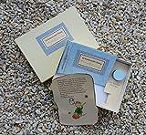 Libro del Ratoncito Pérez Azul hecho a mano y personalizado con el nombre del niño