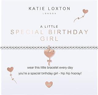 كاتي لوكستون صغير خاص عيد ميلاد فتاة بنات تمتد قابل للتعديل الفرقة أزياء سحر سوار