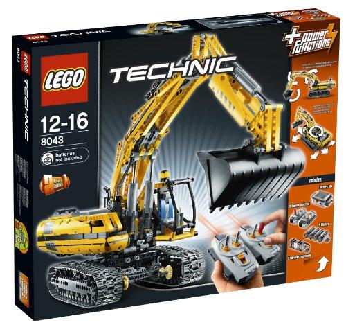 lego technics telecomandato ruspa LEGO Technic 8043 - Escavatore motorizzato