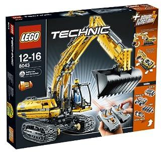 LEGO Technic 8043 - Motorisierter Raupenbagger (B003A2JBW8) | Amazon price tracker / tracking, Amazon price history charts, Amazon price watches, Amazon price drop alerts