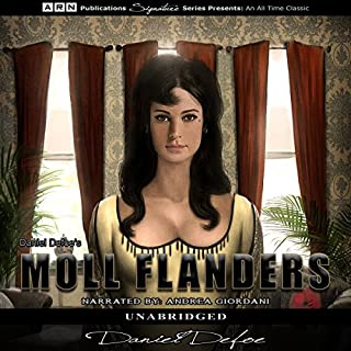 Moll Flanders cover art