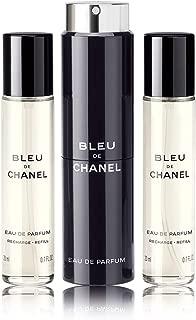 Bleu De C H A N E L Travel Spray Set, 0.7 oz./ 20 mL