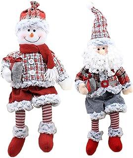 小さくてコンパクト クリスマスサンタクロース雪だるまぬいぐるみクリスマスパー..