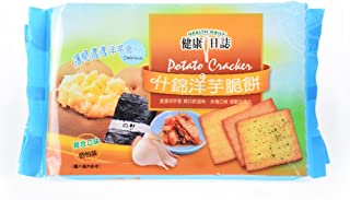 《健康日誌 》 什錦洋芋脆餅 192g(アソートポテトクラッカー) 《台湾 お土産》 [並行輸入品]