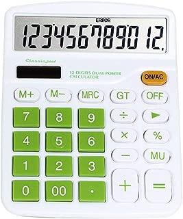 Recoproqfje Candy color mini elettronico 8/cifre scuola studenti calcolatrice tascabile Purple