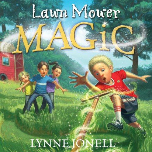 Lawnmower Magic audiobook cover art
