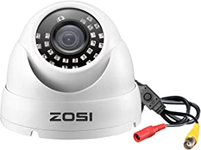 ZOSI 1080P Dome Security Cameras (Hybrid 4-in-1 HD-Cvi/Tvi/Ahd/960H Analog Cvbs), 1920TVL..
