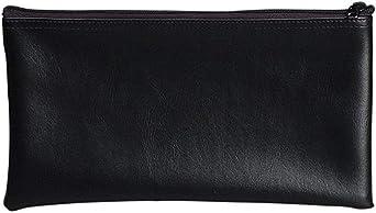 6 Zippered Bank Deposit Bag Carry Pouch Safe Money Organizer Tool Bag-Pick Color