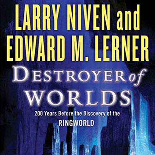 Destroyer of Worlds audiobook cover art
