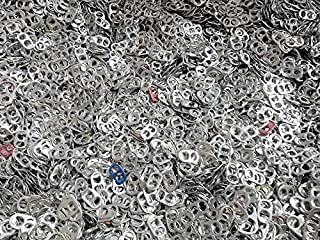 Pop Tabs Direct 2500+ Pop Tabs in Bulk Soda Can Tops - Great for Charity & Crafts!
