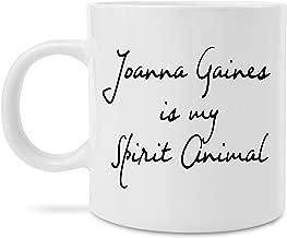 MugBros Joanna Gaines is my Spirit Animal Coffee Mug Novelty Fixer Upper Gift