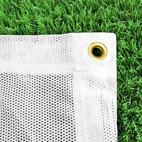 FORZA Hochwertige Pfeilfangnetze in Grün oder Weiß und in 6 Größen erhältlich (Weiß, 1,8m x 1,8m)