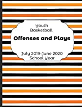Youth Basketball Offenses and Plays July 2019 - June 2020 School Year: 2019-2020 Coach Schedule Organizer For Teaching Fundamentals Practice Drills, ... Development Training and Leadership Program