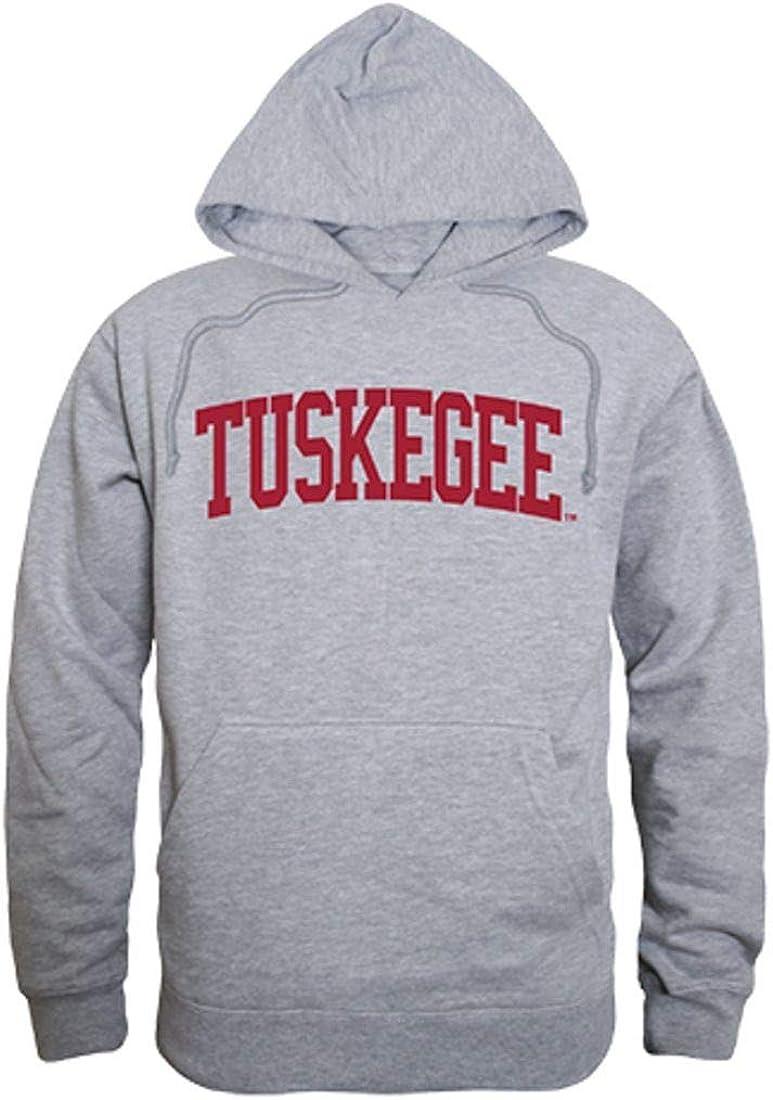 Tuskegee University Tigers Game Day Hoodie Sweatshirt Heather Grey