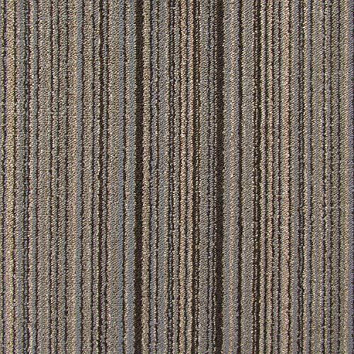 All American Carpet Tiles Victory Residential and Commercial 23.5 x 23.5 Easy to Install Do It Yourself Peel and Stick Carpet Tile Squares – 9 Tiles Per Carton – 34.52 Square Feet Per Carton (Carbon)