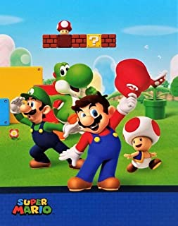 Super Mario Brothers Silky Soft Throw ● 40