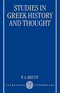 Studies in Greek History and Thought