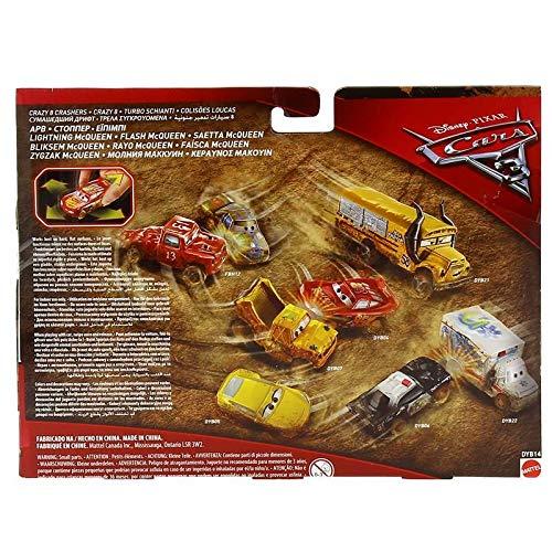 Cars 3 Pack 2 Coches Locos Rayo Mcqueen y APB: Amazon.es: Juguetes y juegos